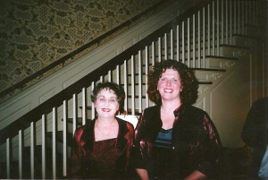 Barbara Rondelli Perry and Me at the Manor House